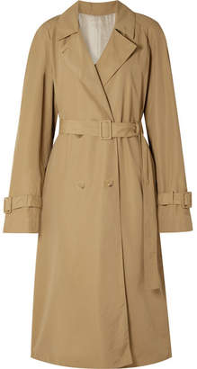 The Row Nueta Oversized Wool-blend Trench Coat - Beige