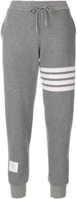 Thom Browne Engineered 4-bar Stripe Sweatpants In Double-Faced Cashmere