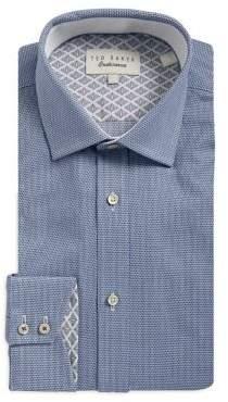 Ted Baker Dobby Textured Dress Shirt