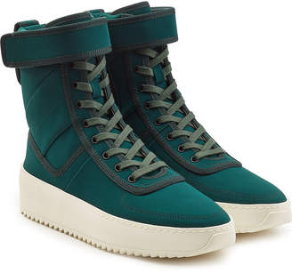 Fear Of God Military Lace-Up Boots with Velcro Strap