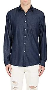 NSF Men's Axel Shirt-Blue Size S