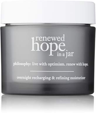philosophy renewed hope in a jar overnight recharging and refining moisturizer, 2 oz, 2 ounces
