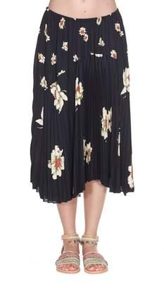 Vince (ヴィンス) - Vince Floral Print Skirt