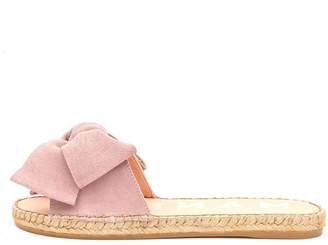 30f7bc999d1 Velvet by Graham   Spencer FLAT SANDALS WITH BOW BY MANEBI