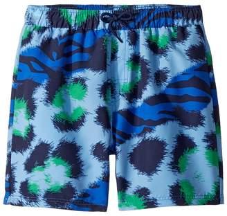 Kenzo Tiger Print Swim Shorts Boy's Swimwear