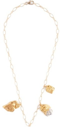 Alighieri The X Chrome Amore 24kt Gold Plated Necklace - Womens - Gold
