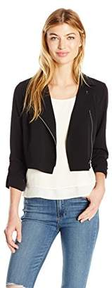 Jones New York Women's Short SLV Zip Jacket