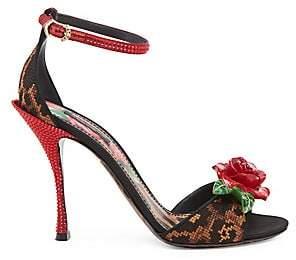 7f965ba390c Dolce   Gabbana Dolce  Gabbana Dolce  Gabbana Women s Studded Leopard ...