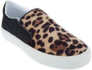 Marc Fisher Leopard or Velvet Slip-On Shoes -Calie