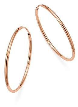 Bloomingdale's 14K Rose Gold Endless Hoop Earrings - 100% Exclusive