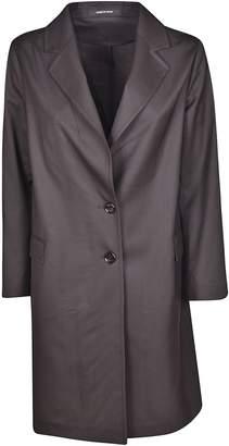 Tagliatore Single Breasted Buttoned Long Blazer