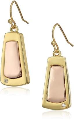 "T Tahari Essentials"" Paddle On Wire Drop Earrings"