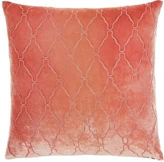 Kevin OBrien Kevin O'Brien Arches Burnout Silk-Blend Velvet Pillow