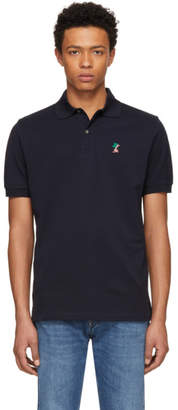 Paul Smith Navy Naked Lady Gents Polo