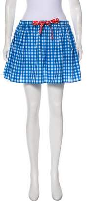 Au Jour Le Jour Gingham Mini Skirt w/ Tags