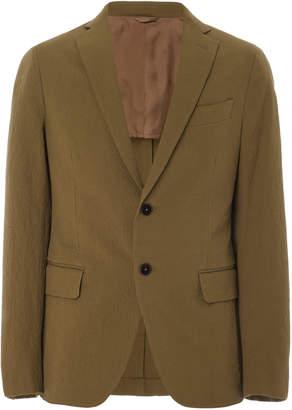 EIDOS Seersucker Cotton Blazer