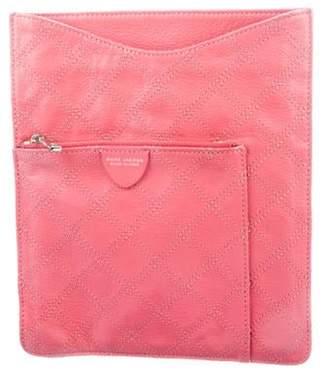 Marc Jacobs Monogram Leather Tablet Case Pink Monogram Leather Tablet Case