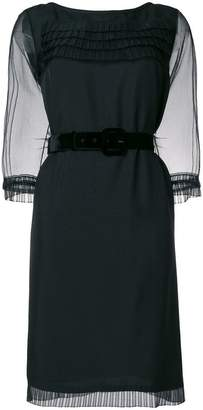 Marc Jacobs ruffle trim dress