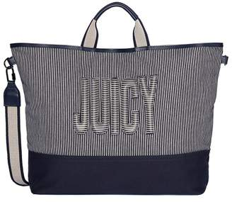 Juicy Couture JUICY Juicy by Navy Canvas 'Parker' Tote Bag