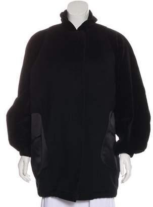 Christian Lacroix Velvet-trimmed Short Coat