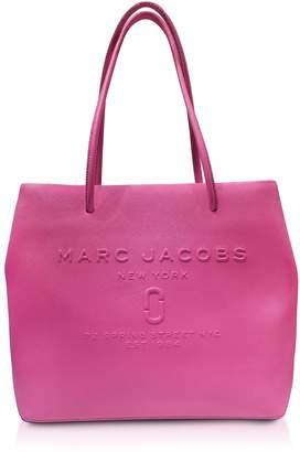 Marc Jacobs Fuchsia Saffiano Leather Logo Shopper