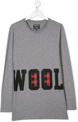 Woolrich Kids TEEN branded T-shirt