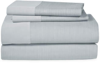 Michael Aram Striated Band California King Fitted Sheet Bedding