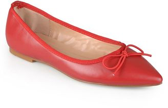 Journee Collection Lena Women's Pointed Ballet Flats $49.99 thestylecure.com