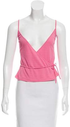 Emilio Pucci Sleeveless Wrap Top