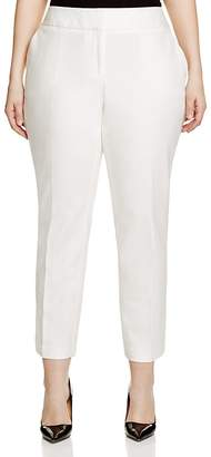 Vince Camuto Plus Slim-Leg Ankle Pants