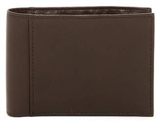 Bosca Small ID Bifold Leather Wallet