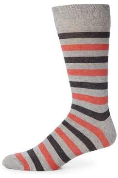 Saks Fifth Avenue COLLECTION Striped Rugby Socks
