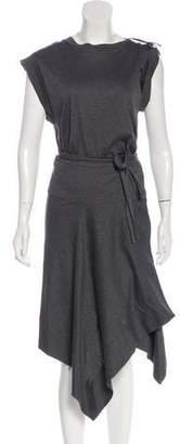 Isabel Marant Midi Wrap Dress