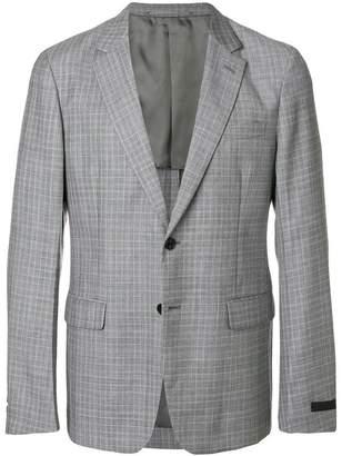 Prada classic check blazer