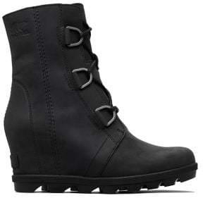 Sorel Joan II Waterproof Leather Wedge Boots