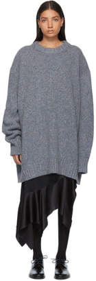 Maison Margiela Blue Gauge 3 Sweater