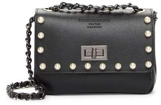 Persaman New York Viola Leather Crossbody Bag