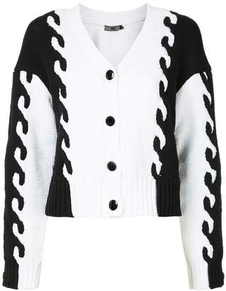 Aula cropped button up cardigan