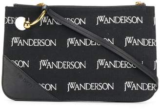 J.W.Anderson Pierce logo embroidered pouch