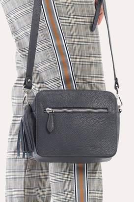 Kiko Leather Armor Cross-Body Bag