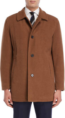 Cole Haan Wool-Blend Car Coat
