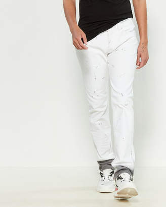 Cult of Individuality Benton Greaser Straight Jeans