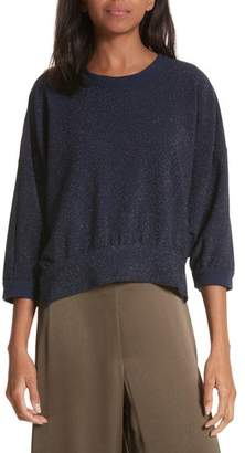 Rachel Comey Bae Metallic Knit Top