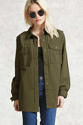 FOREVER 21+ Military Jacket $22.90 thestylecure.com