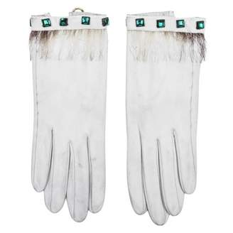 Hermes Leather gloves