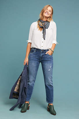 Wrangler Boyfriend High-Rise Straight Jeans