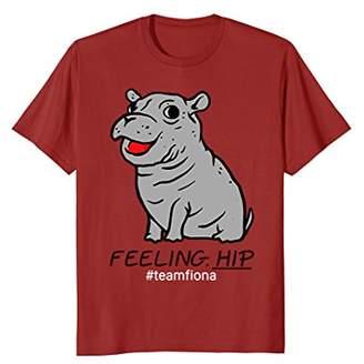 Feeling Hip Preemie Baby Hippo Fiona Team Fiona T Shirt
