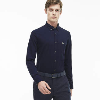 Lacoste (ラコステ) - コットンジャージースリムフィットシャツ (長袖)