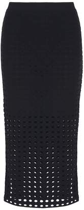 Alexander Wang Black Holes Pencil Skirt