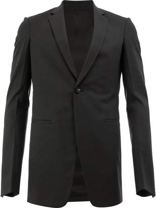 Rick Owens single breasted blazer